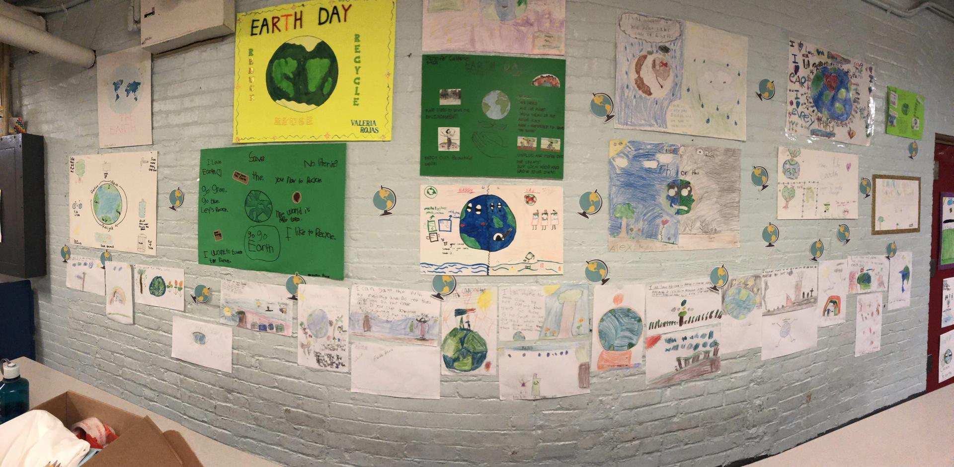 Earth Week Posters