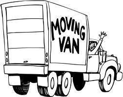 moving van graphic