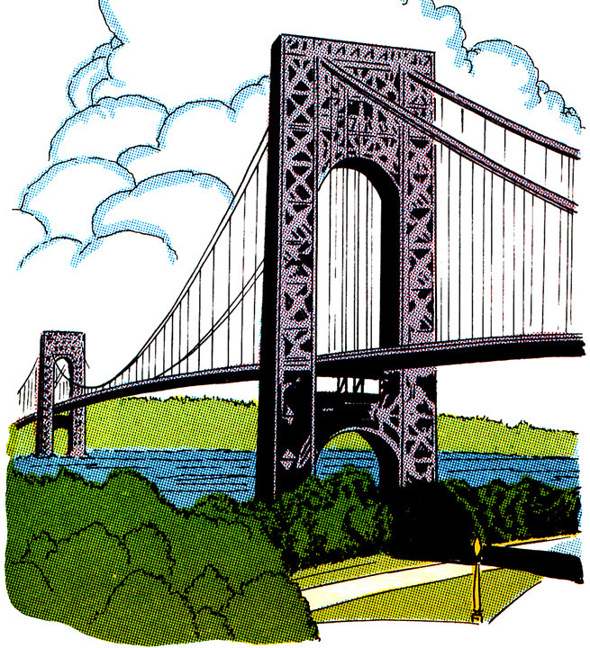 drawing of bridge