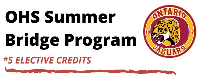 OHS Summer Bridge Program