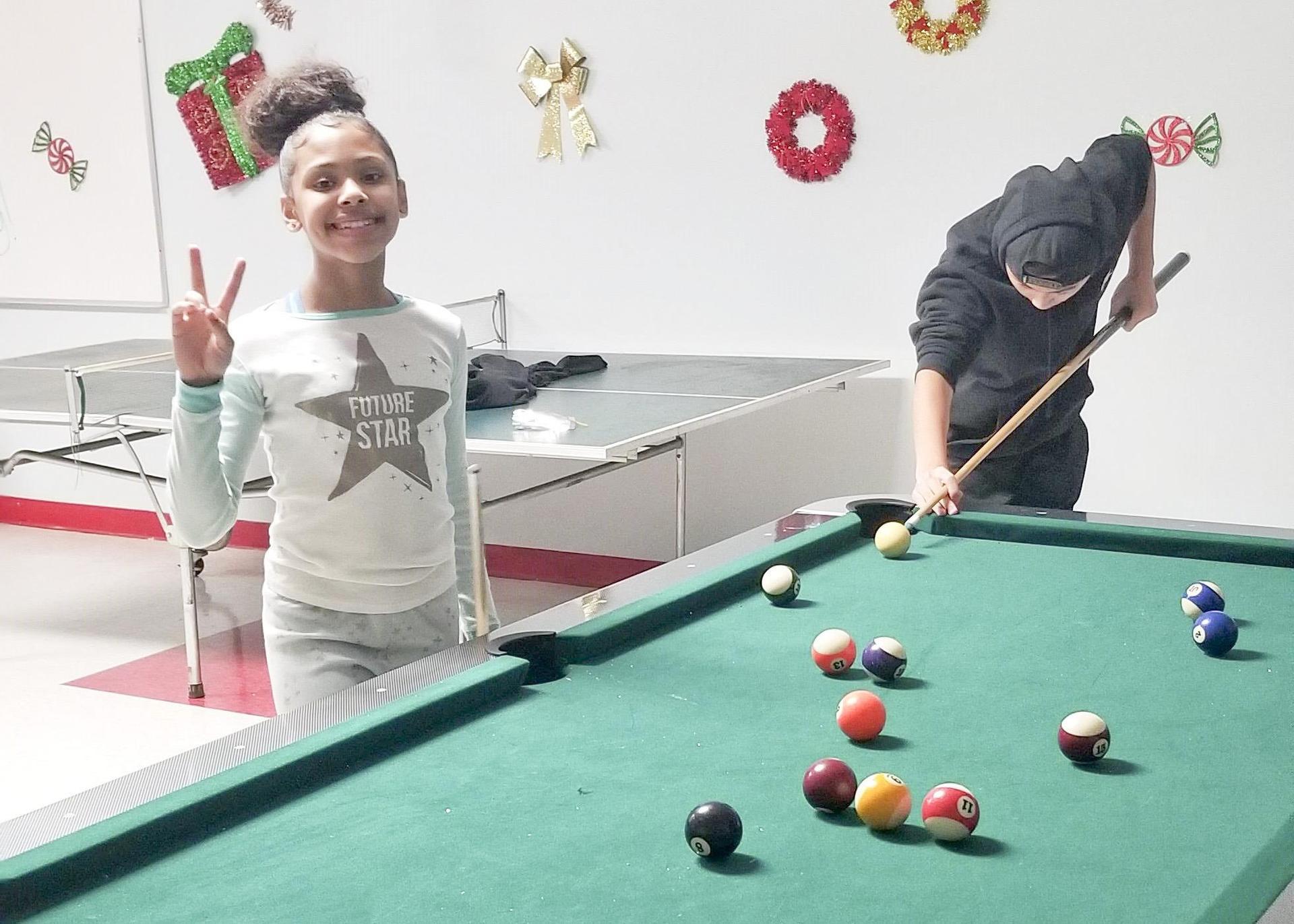 Rec Hall: Billiards