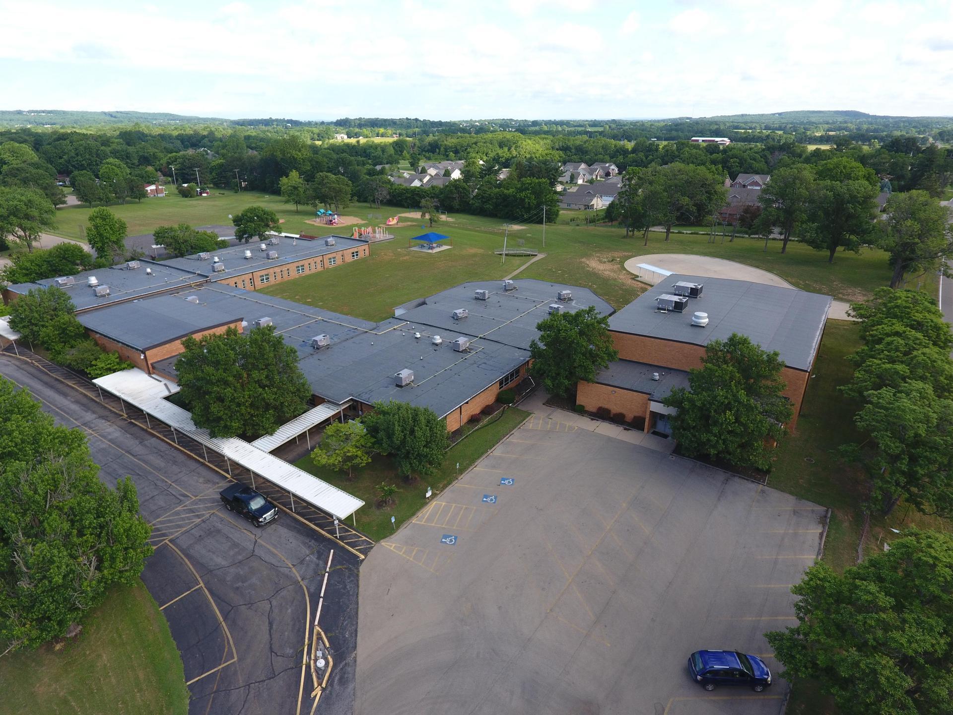 Jefferson Elementary Overhead