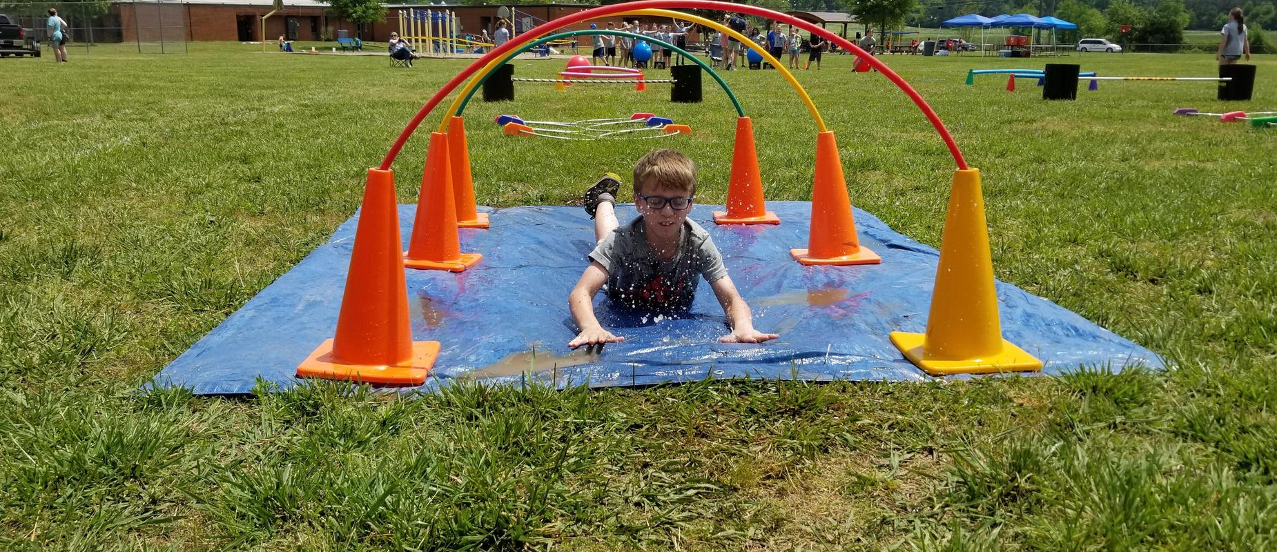 Field Day, Ninja Course