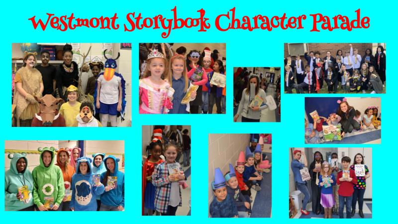 WES Storybook parade