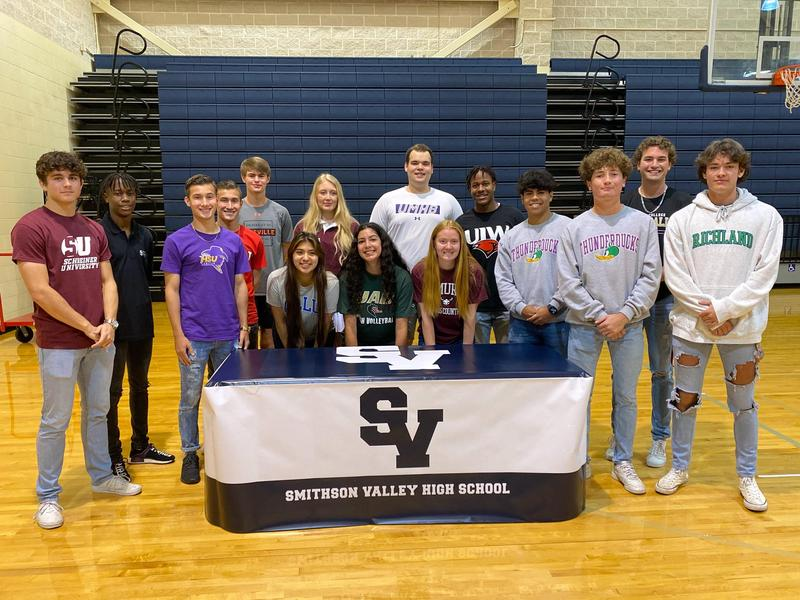 SVHS Signing Day April 14, 2021