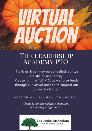 PTO Virtual Auction Fundraiser Featured Photo