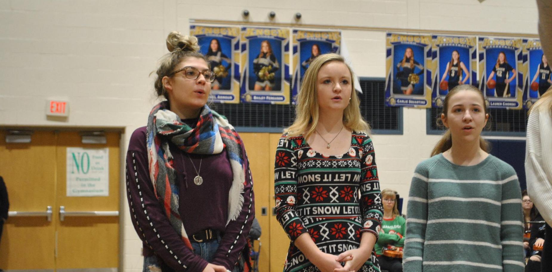holiday music performance