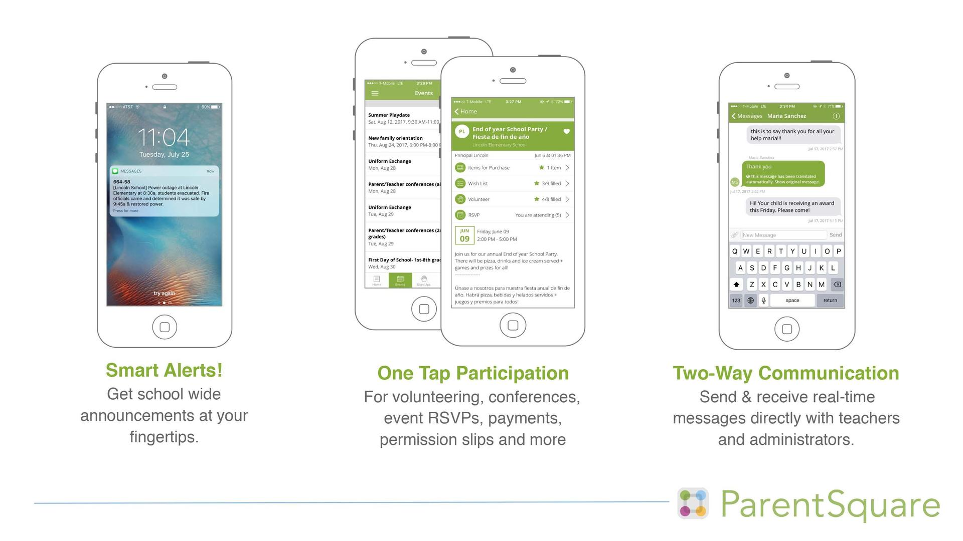 How ParentSquare Works