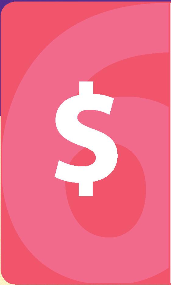 strategic goal 6 with dollar sign icon