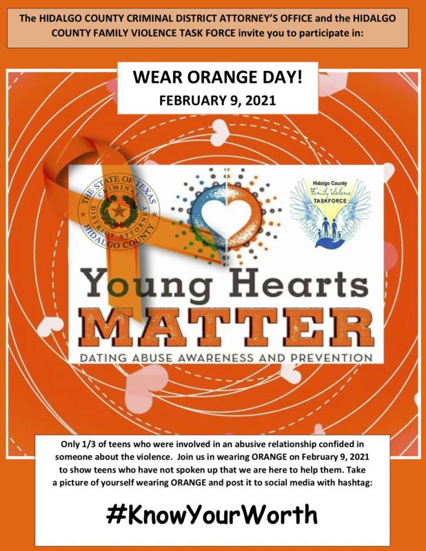 Wear ORANGE on February 9th! Featured Photo