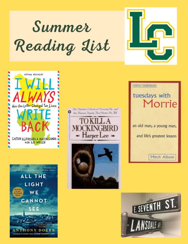 Summer Reading List Featured Photo
