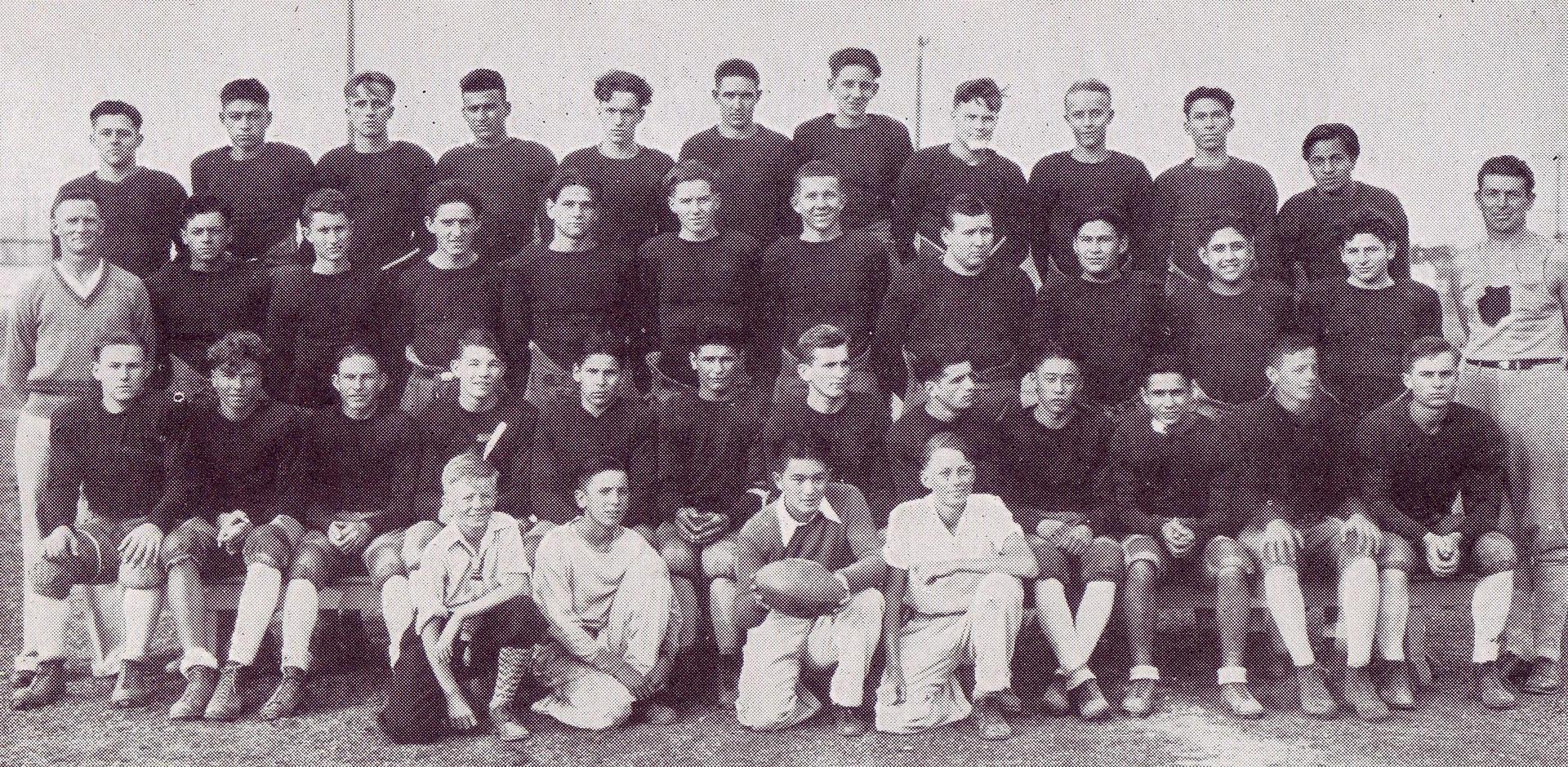 football team 1920