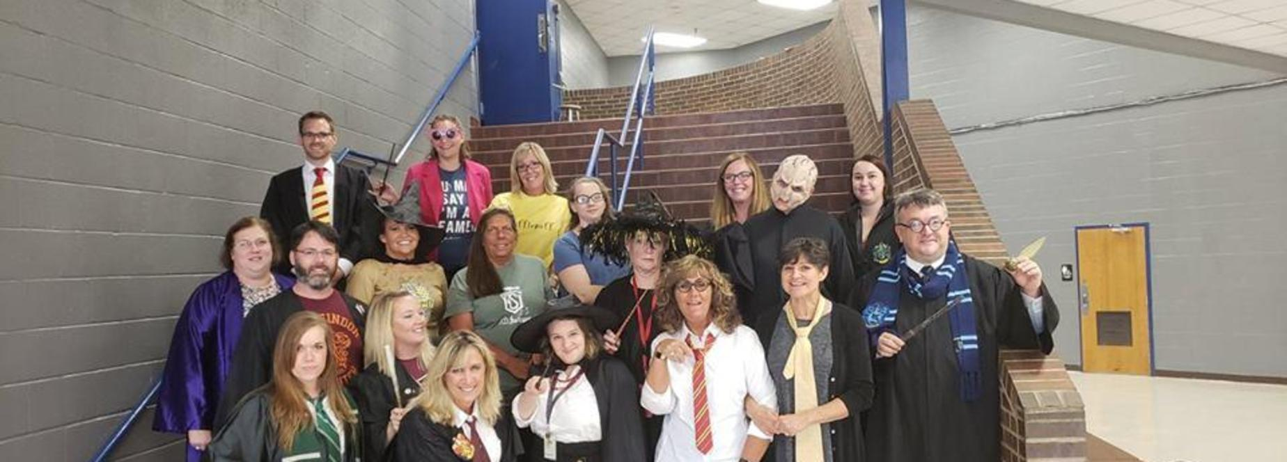 Teachers as Harry Potter Characters