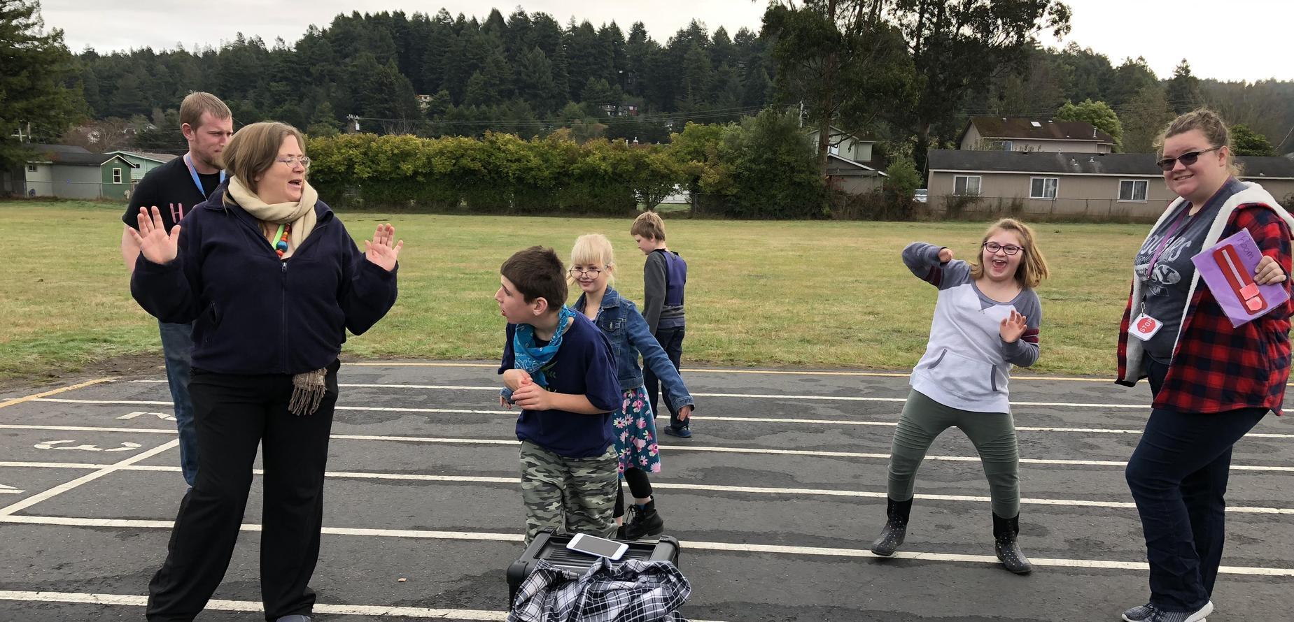 recess dance party