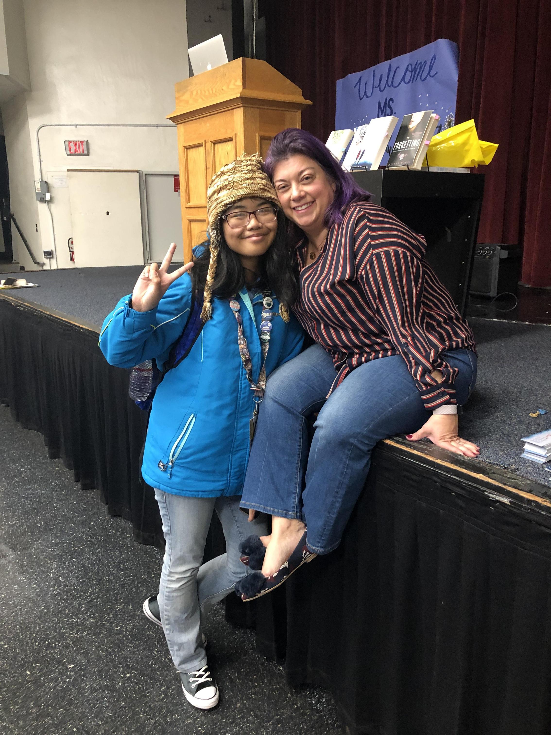 Nicole Maggi visits BHS!