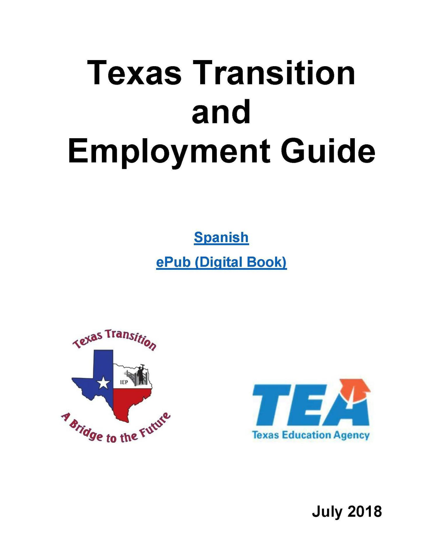 Texas Transition and Employment Guides
