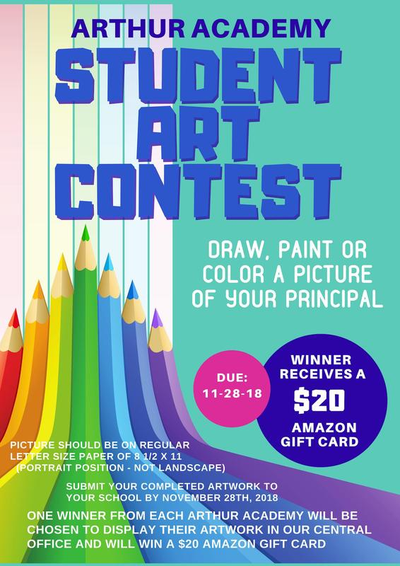 STUDENT ART CONTEST!!! Thumbnail Image