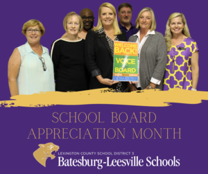 Lexington Three Celebrates School Board Recognition Month