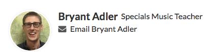 Contact Mr. Adler