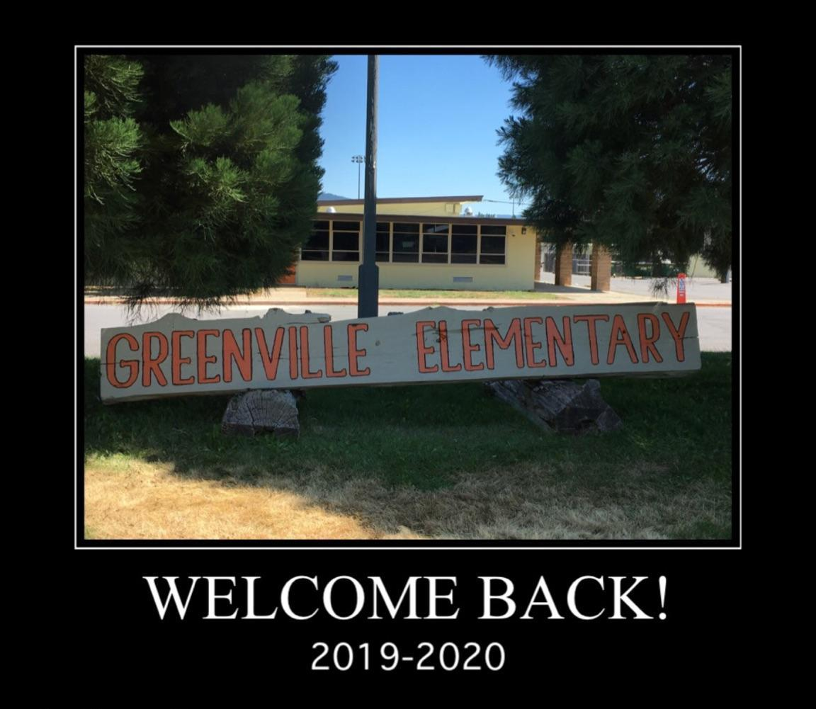 Greenville Elementary School sign