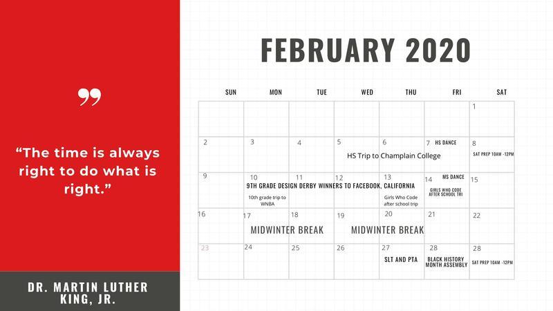 February School Calendar Featured Photo