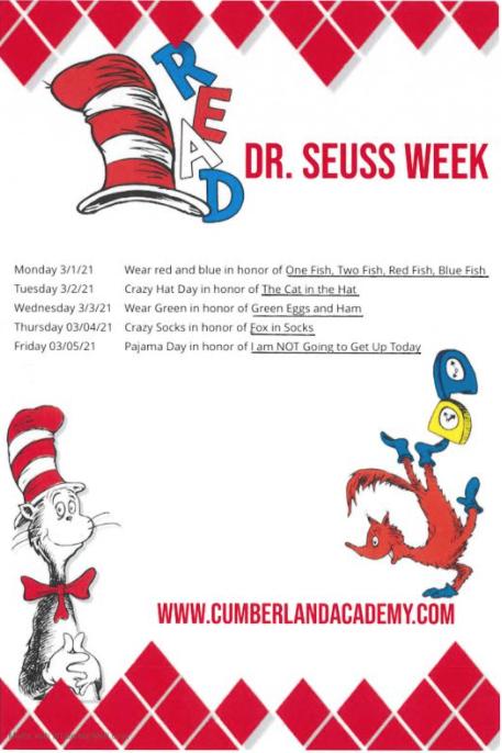 Dr. Seuss Week Featured Photo