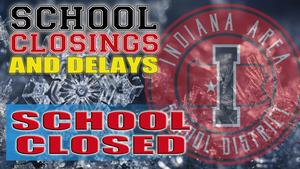 school closing logo