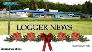 Logger News 12-20-19