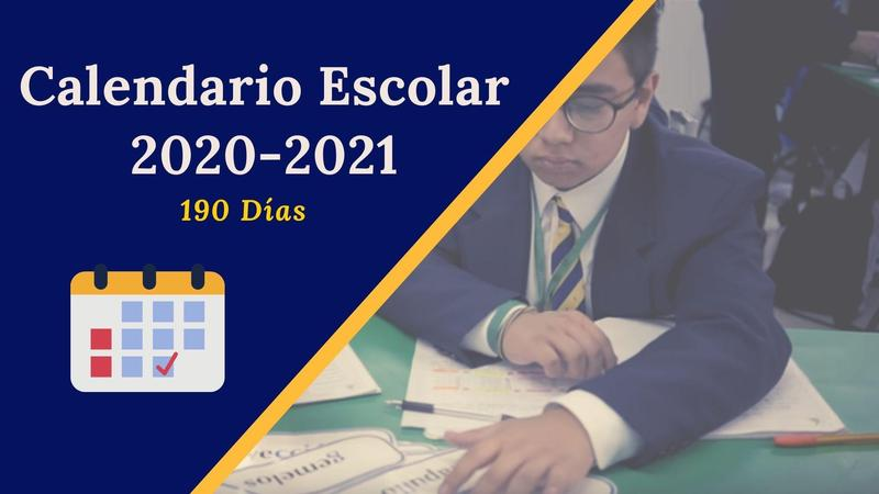 Calendario Escolar 2020-2021 Featured Photo