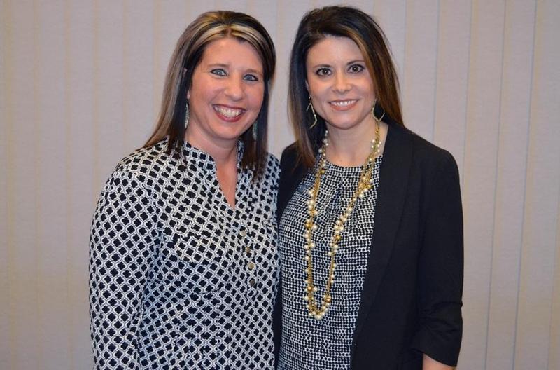 LeAnn Fisher and Jennifer Pierce