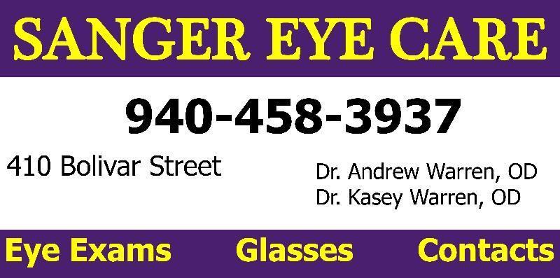 sanger eye care logo