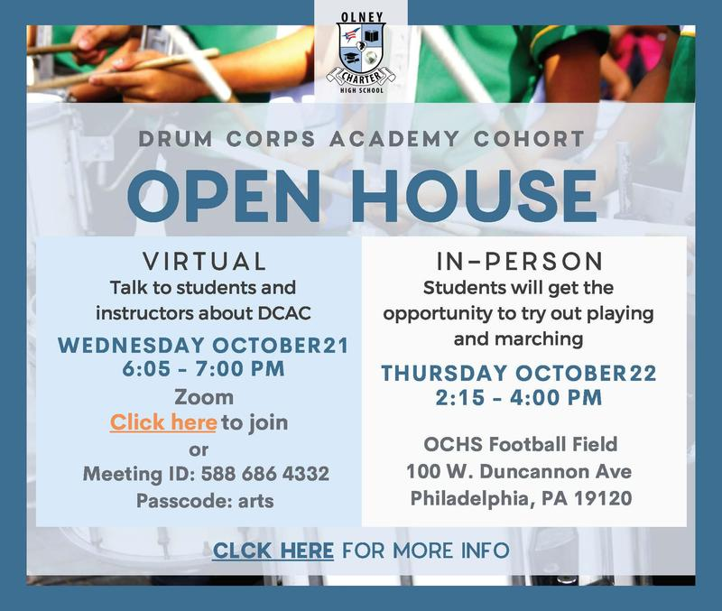 Open House - Drum Corps Academy @ OCHS Featured Photo