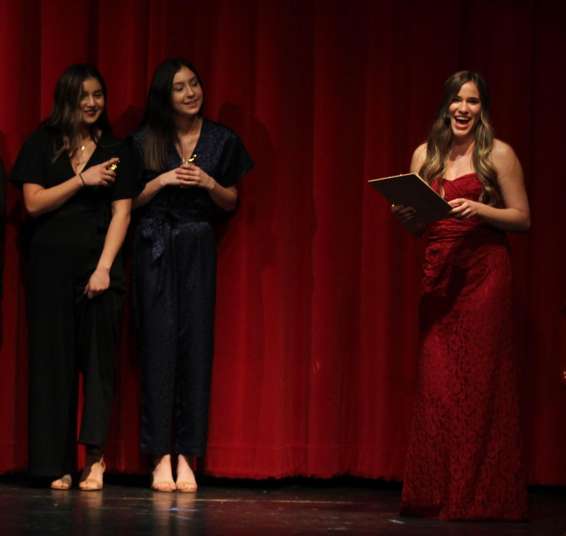 Milli Montez, Lexi Montez and Christina Fuller