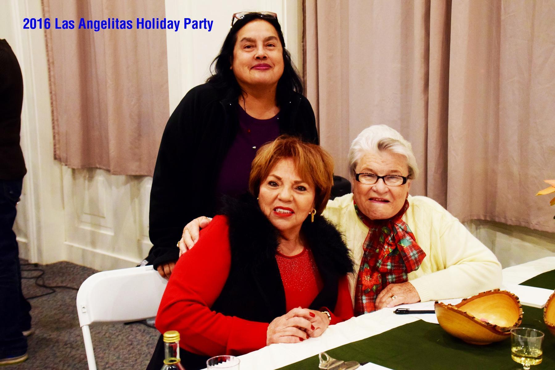 Here I am with fellow Las Angelitas' docents of El Pueblo de Los Angeles (Olvera Street).