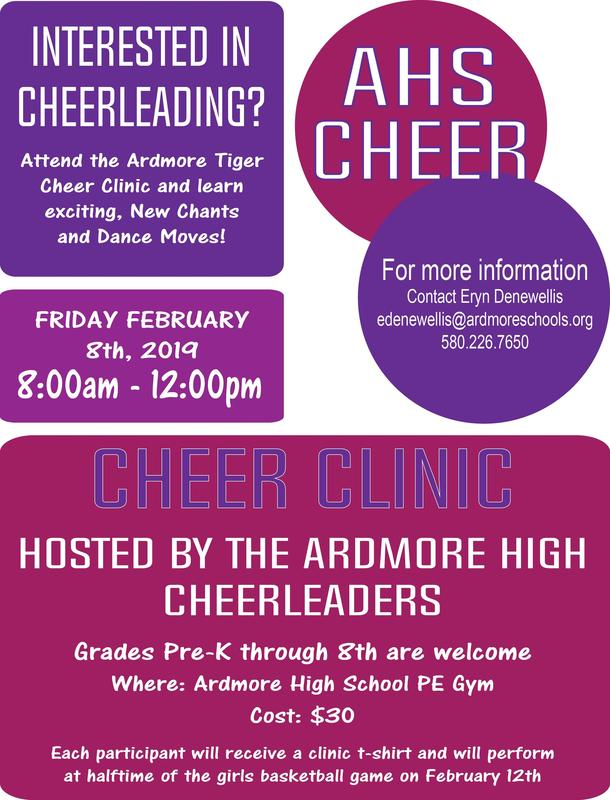 Youth Cheer Clinic Featured Photo