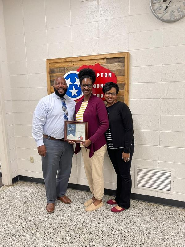 American Fidelity October Teacher of the Month Featured Photo