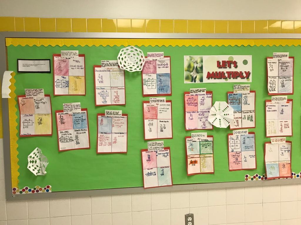 lets multiply math activity display