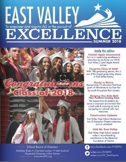 Picture of the cover of our summer newsletter.