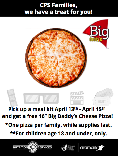 Free Pizza Meal Kits April 13-15 Featured Photo