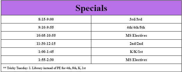 Homyak Specials