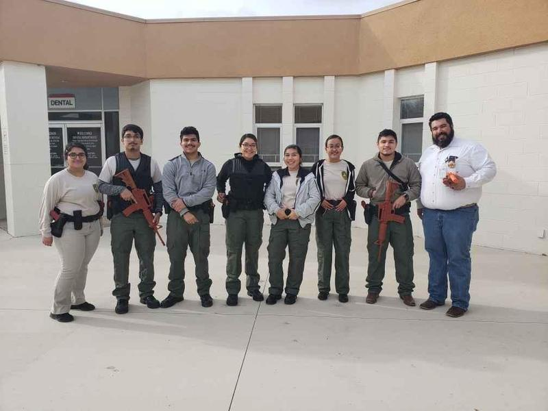 Criminal Justice Participates in Mock Shooting Featured Photo