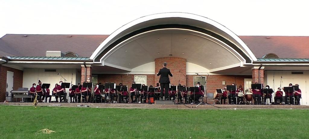 James Hart Band outdoor concert