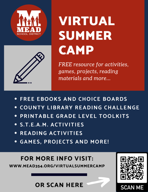 Virtual Summer Camp Information