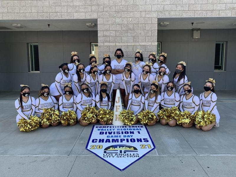 Kennedy Cheer is the Valley Regional Champions! Featured Photo