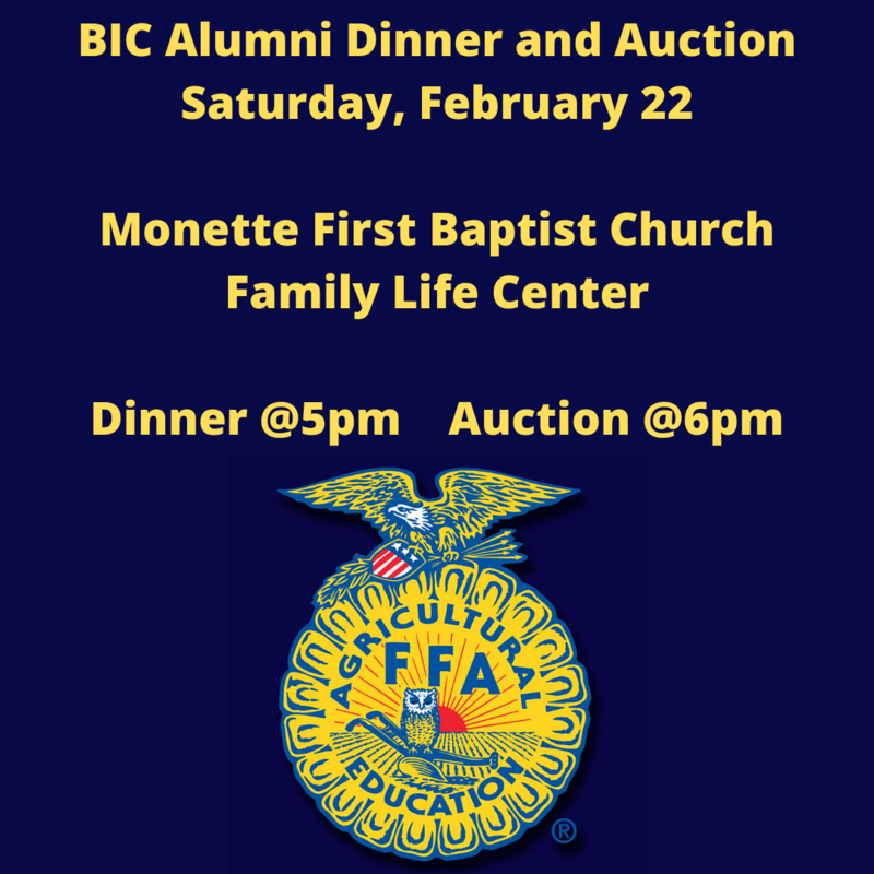 FFA Alumni Dinner/Auction Featured Photo
