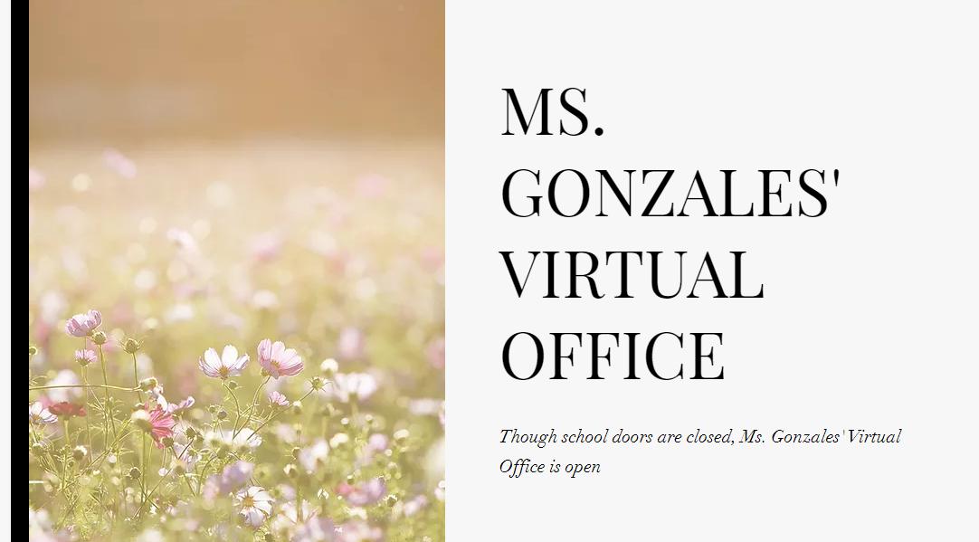 Gonzales Website