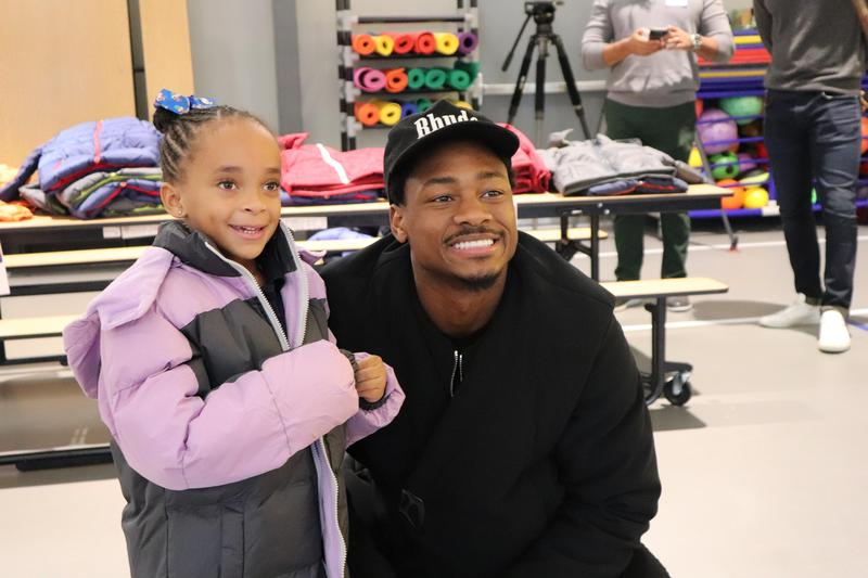 Minnesota Vikings' Wide Receiver Stefon Diggs Teams Up With Operation Warm To Donate Hundreds of Coats to Early Childhood Academy Featured Photo