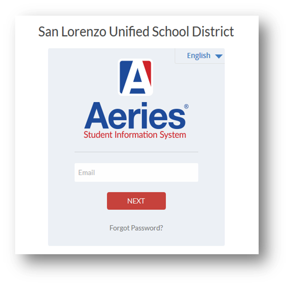 Aeries Online Registration