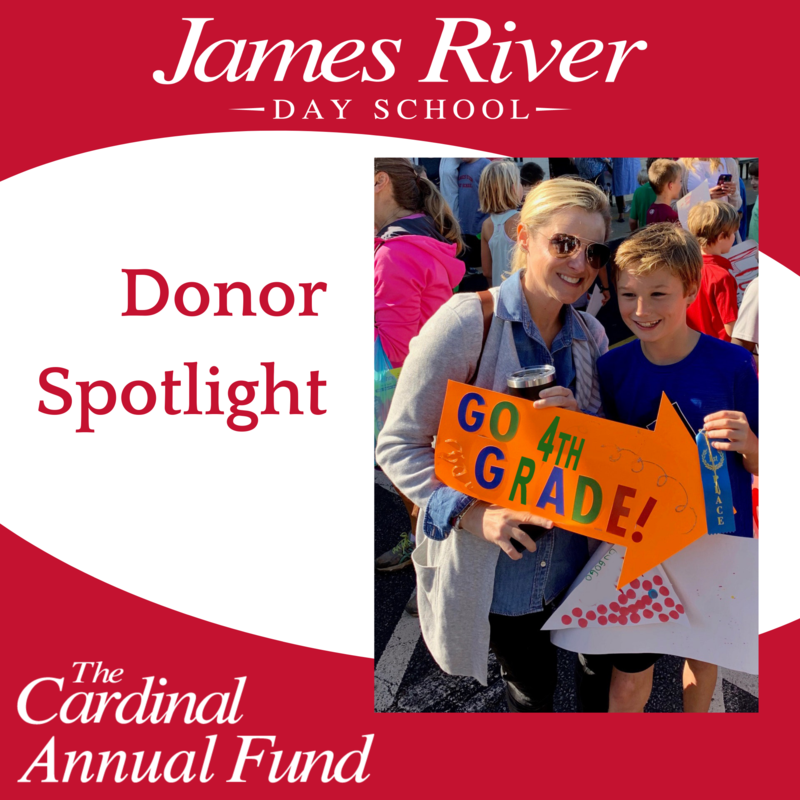 Donor Spotlight on Sara Hunt