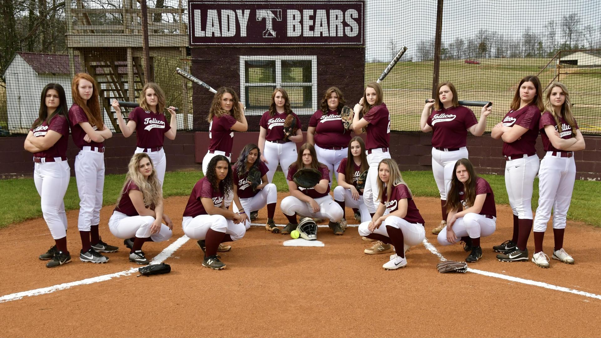 2021 Lady Bears Softball Team